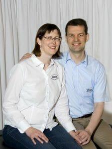 Corinne og John Boel, Boel Akupunkturs ejere.