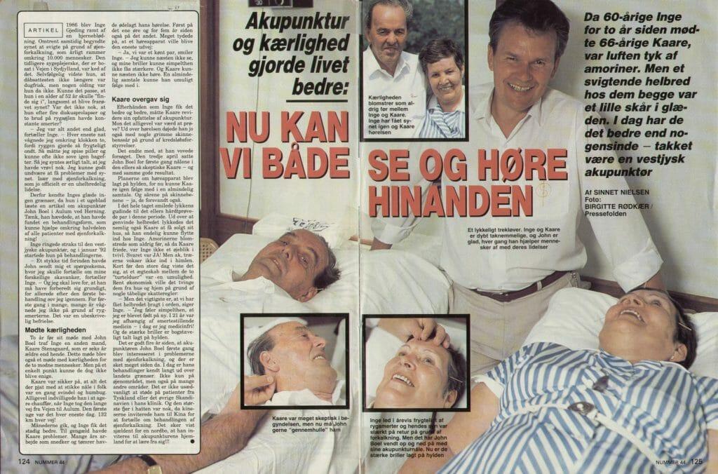Nedsat hørelse og høreapparater kan behandles hos Boel Akupunktur